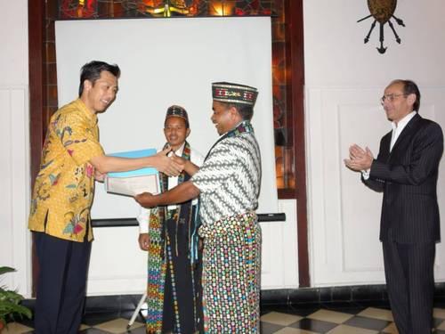 Pemberian penghargaan untuk Desa Wae Rebo di Jakarta | Foto: Dok. UNESCO