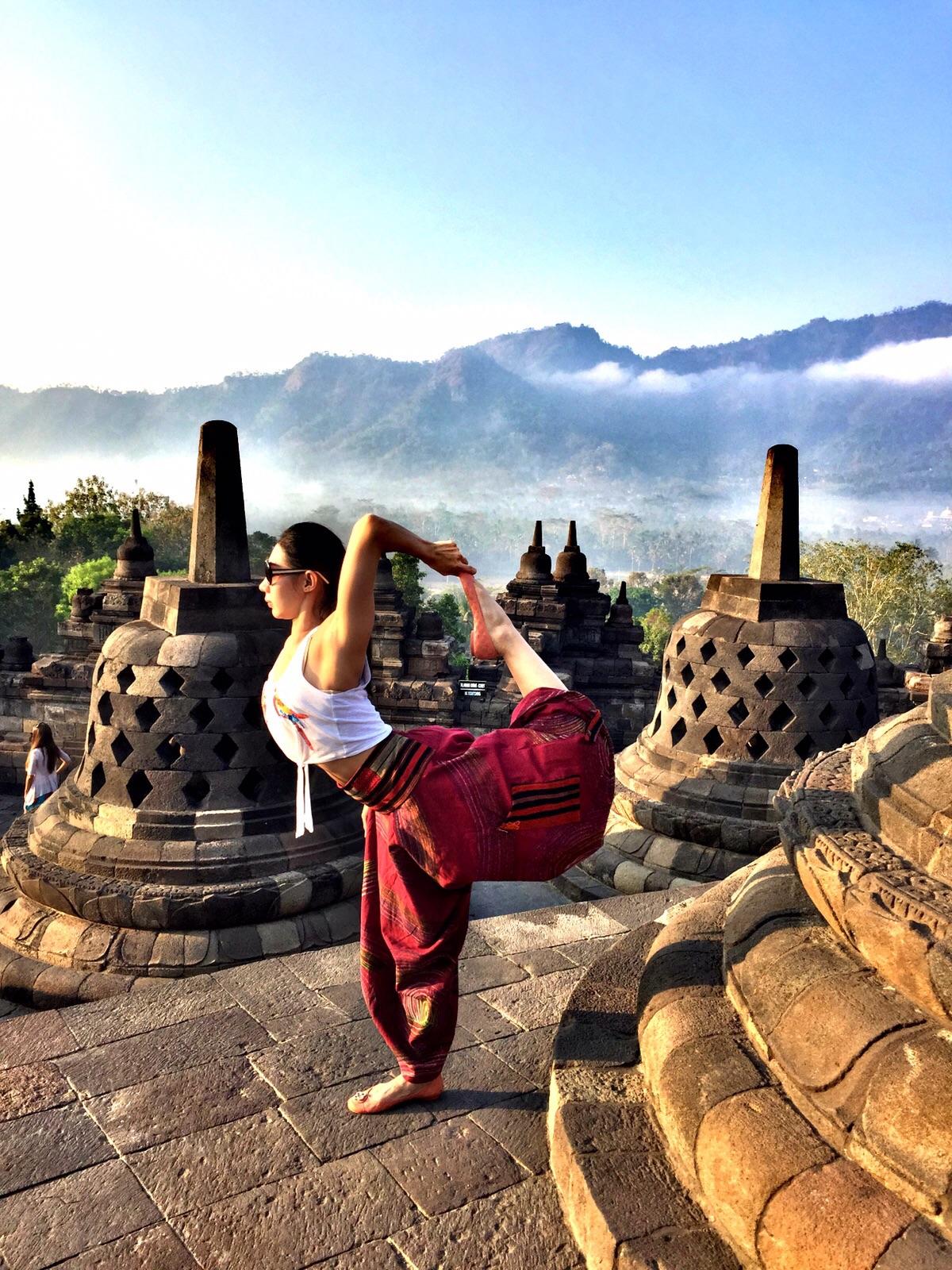 Fasilitas yoga belum memadai, Borobudur akan bangun Sentra Meditas di Hotel Manohara | Foto: Yoga In Indonesia
