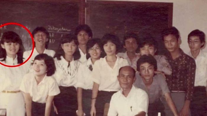 Rose Amal ketika menjadi siswa SMA Santo Thomas di Medan Sumatera Utara di tahun 1980-an | Foto: ABC