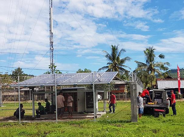 BTS 4G Telkomsel di Dessa Tolo'oi, Kecamatan Tarano, Kabupaten Sumbawa, NTB | Foto: www.telkomsel.com