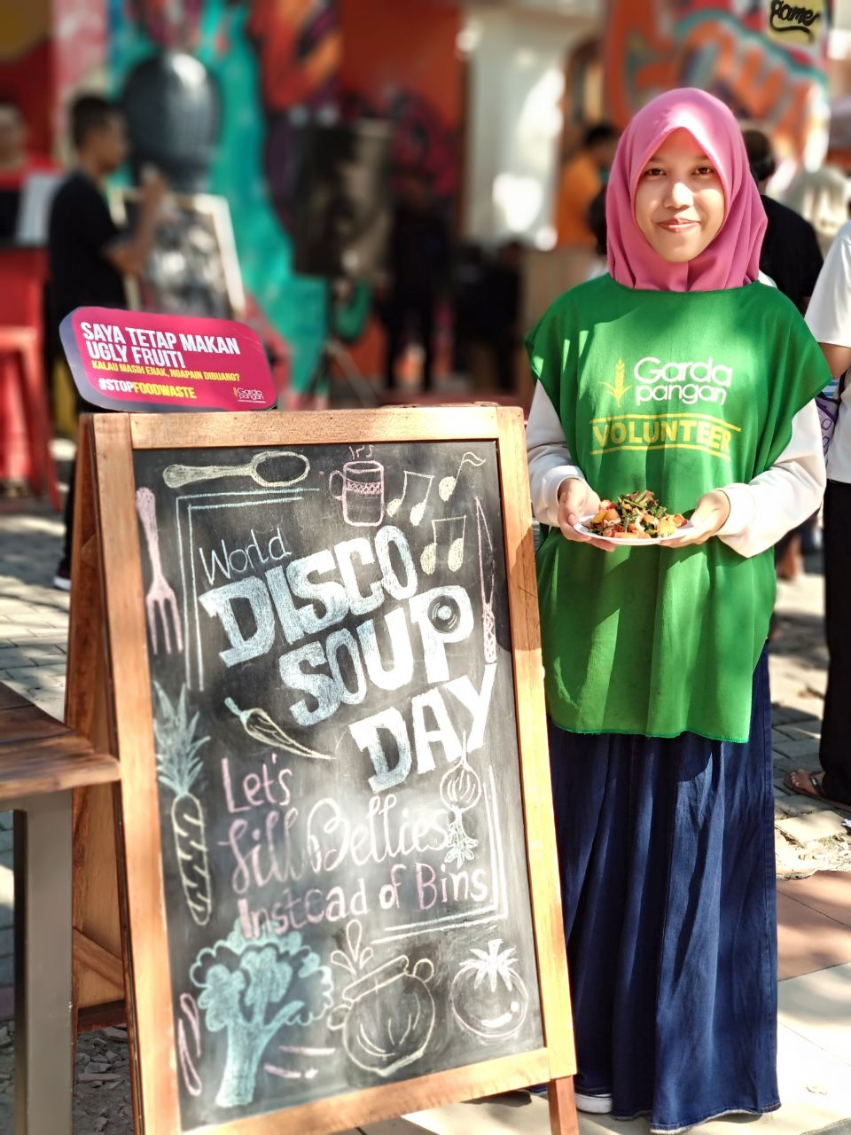 Kampanye ugly fruit | Foto: Dok. Garda Pangan