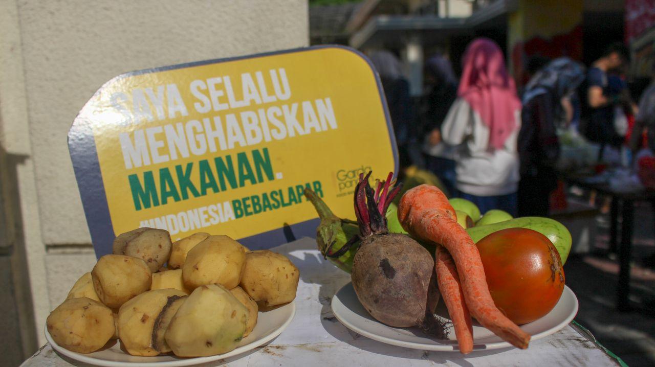 Peduli food waste! | Foto: Dok. Garda Pangan