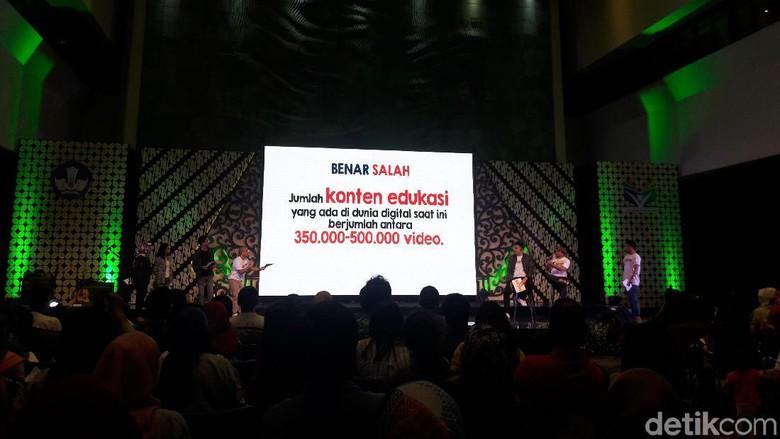 Pesta Pendidikan dalam rangka Hardiknas | Foto: Marlinda/detikcom