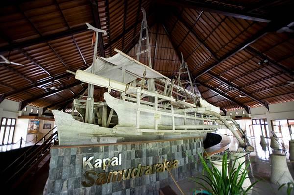 Penampakan Kapal Samudraraksa | Foto: beasleygreen.com