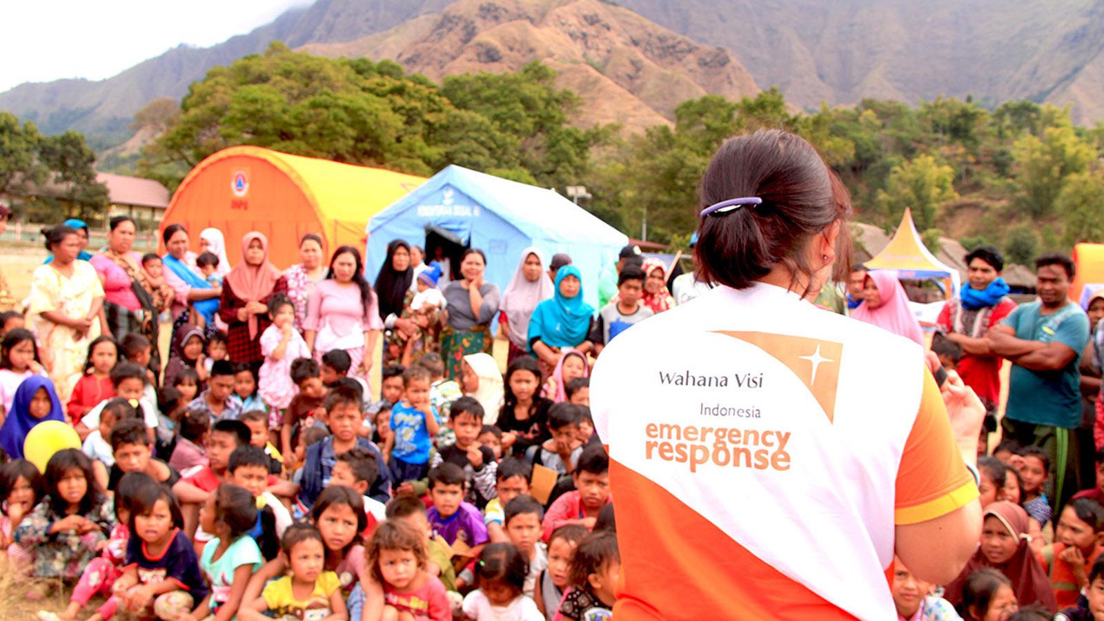 Salah satu aktivitas WVI | Foto: wahanavisi.org