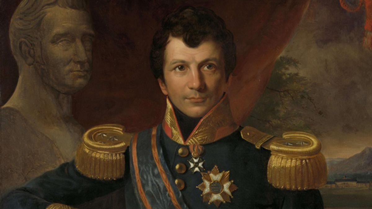 Potret wajah Johannes Graaf Van Den Bosch | Foto: wikipedia.com