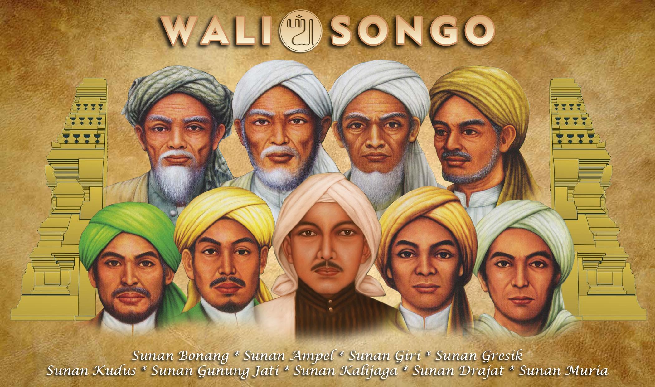 Para Wali Songo   Foto: dakwahmuslimbali.com