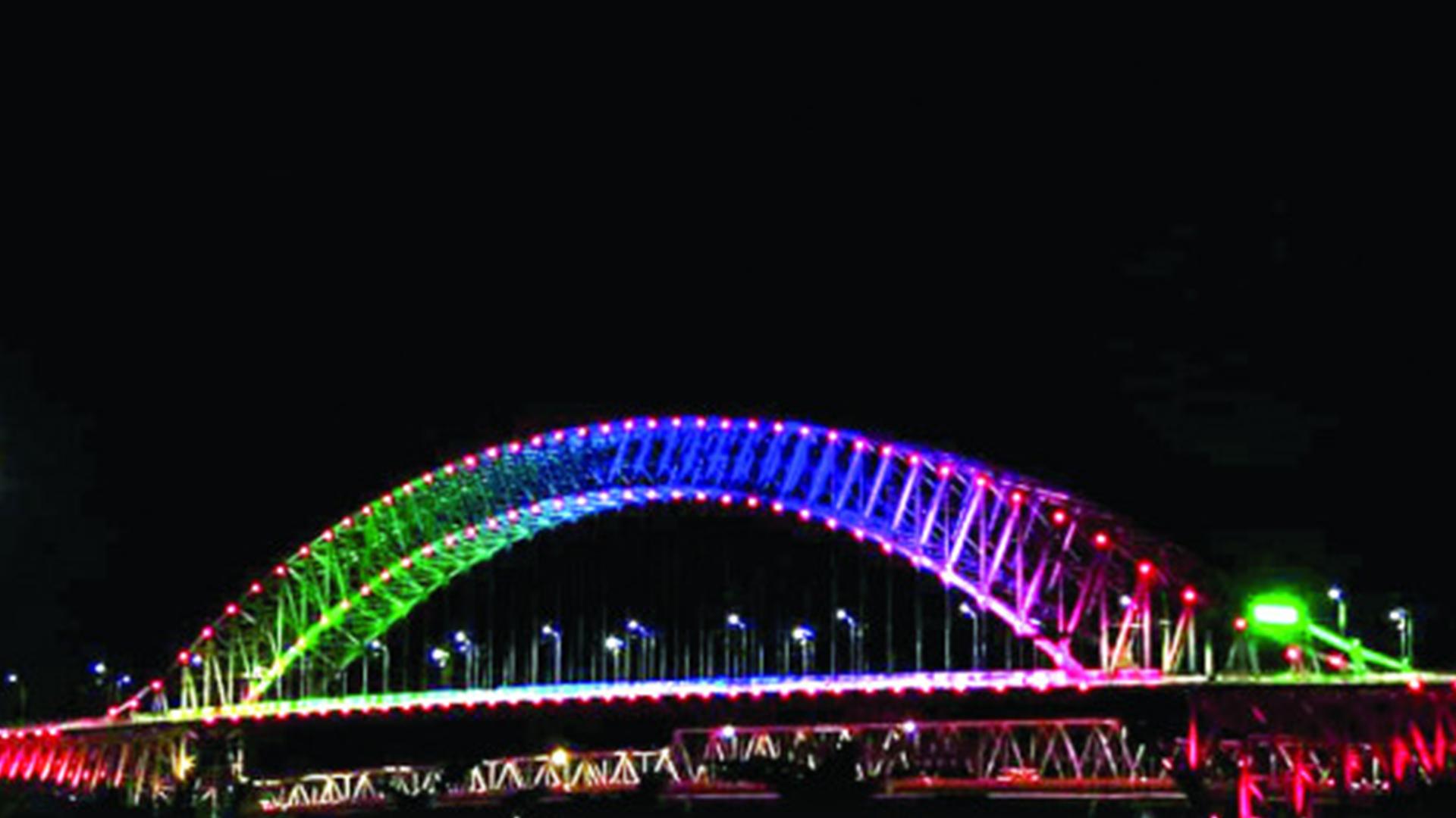 Jembatan Tengku Fisabilillah | Foto: korankaltim.com