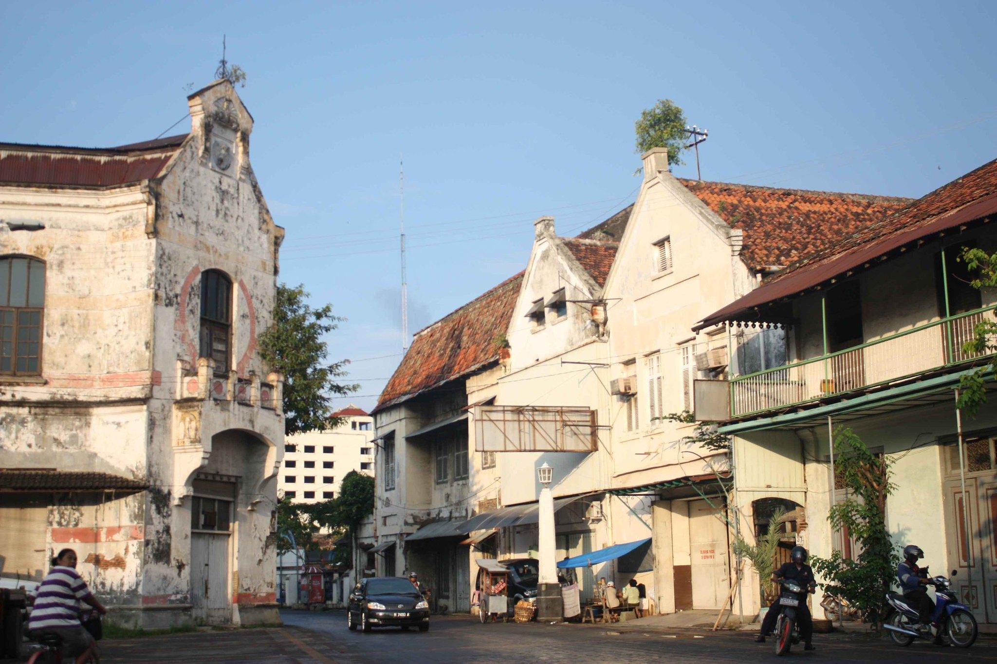 Bangunan ikonik di Kota Lama Semarang | Foto: holamigo.id