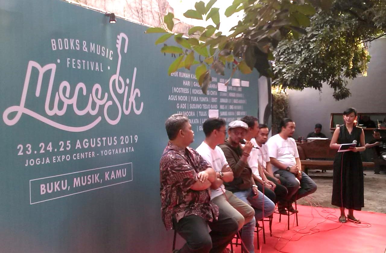 Jumpa pers MocoSik Festival 2019