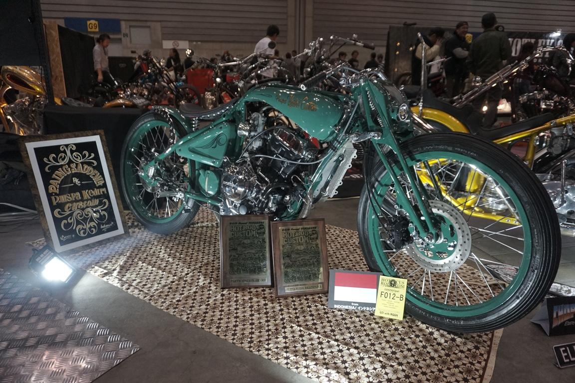 Paing Saddewa karya Puspa Kediri Custom (Jakarta) oleh Chopper Journal disebut sebagai motor terbaik.