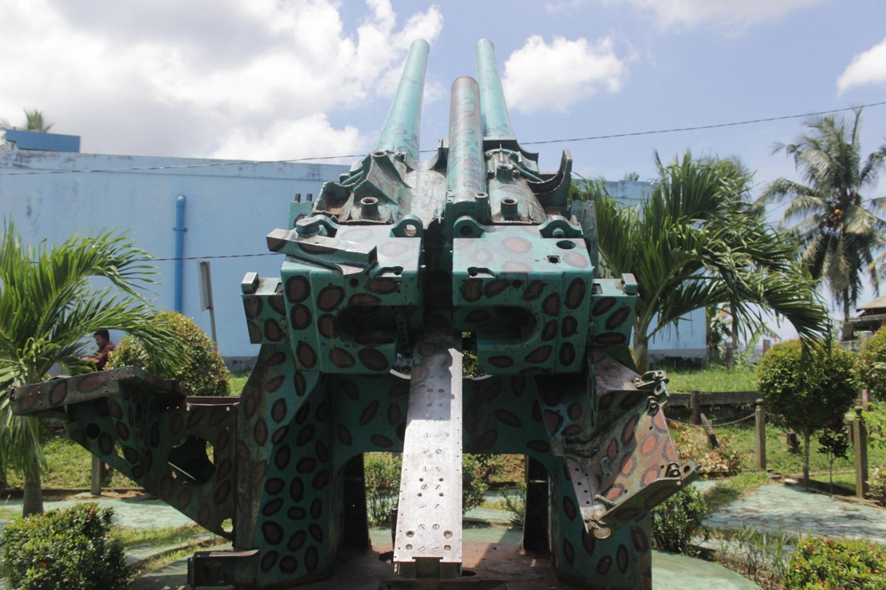 Meriam Peninggalan Jepang Di Balikpapan