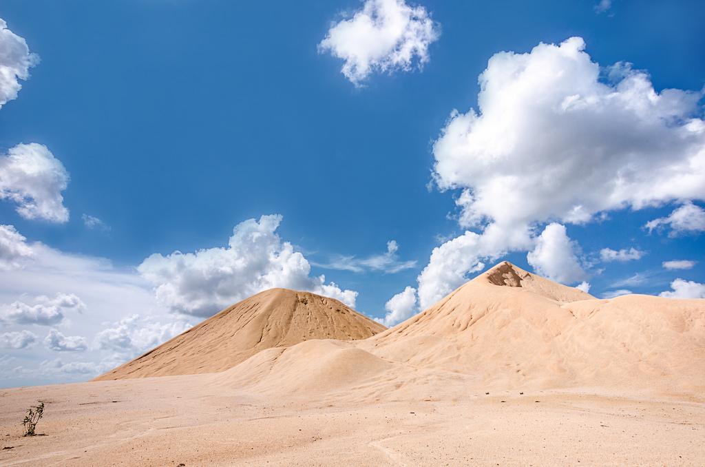 Panorama bukit pasir Busung