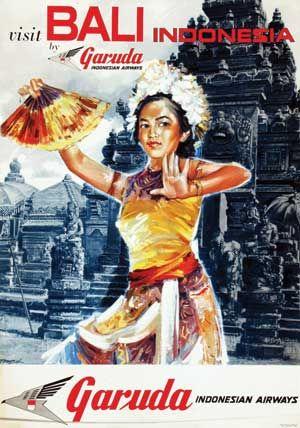 Garuda Indonesia ternyata sejak jaman dulu sudah melakukan promosi wisata di Indonesia