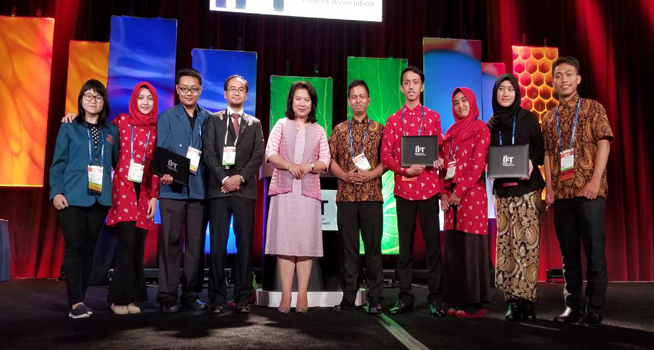 Mahasiswa-mahasiswa asal Indonesia juarai kompetisi ilmu pangan di Chicago (Dok. KJRI Chicago)