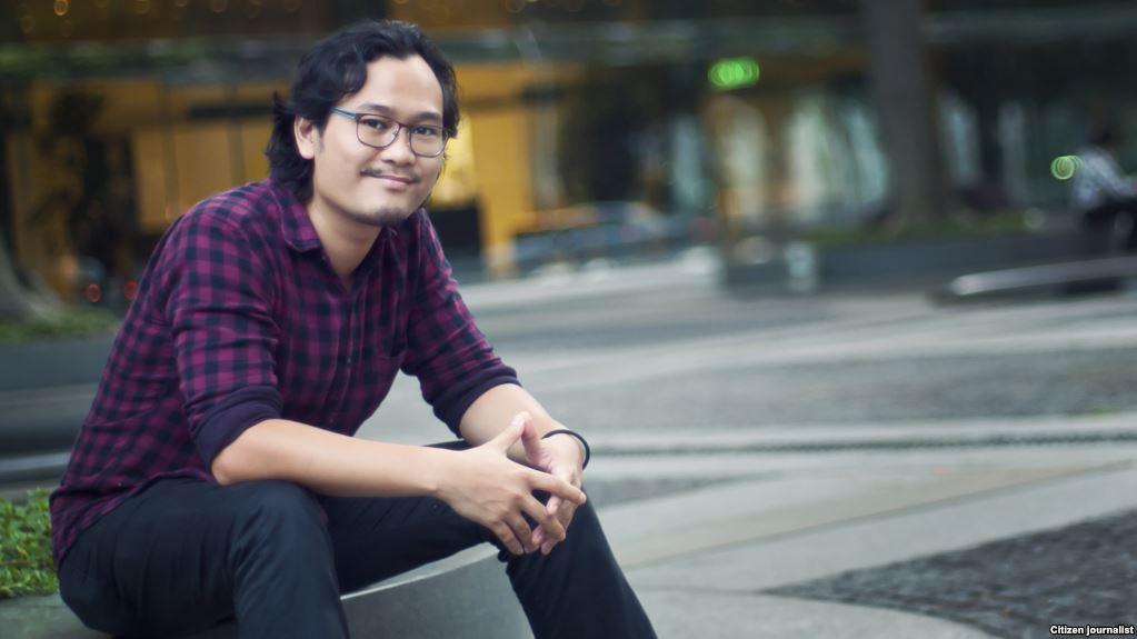 Ronny Gani (sumber : VOA Indonesia)