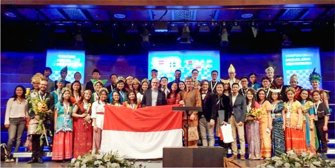 Paduan Suara UNPAR Juara 2 International Baltic Sea Choir Competition. (Foto: Dok. UNPAR)