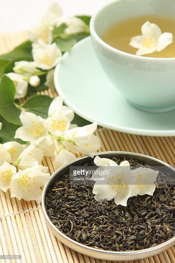 Китай элитного зеленого чая с жасмином