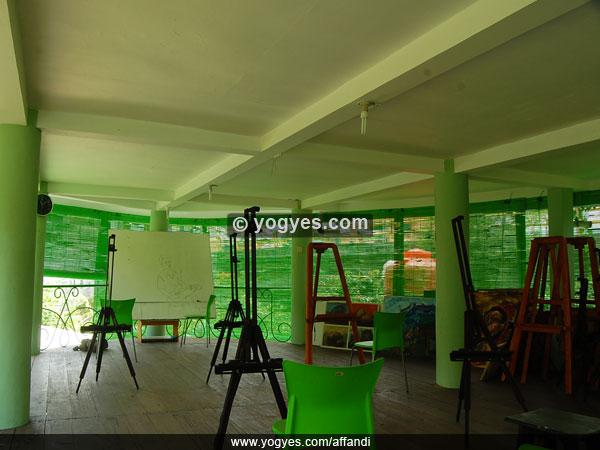 Sanggar Gajah Wong di Museum Affandi (www.yogyes.com)