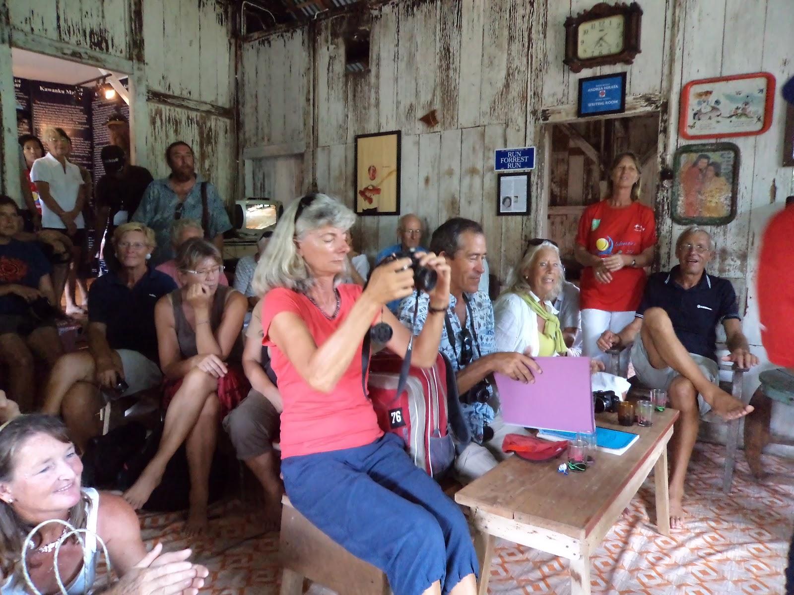Pengunjung museum kata dari Indonesia hingga luar negeri