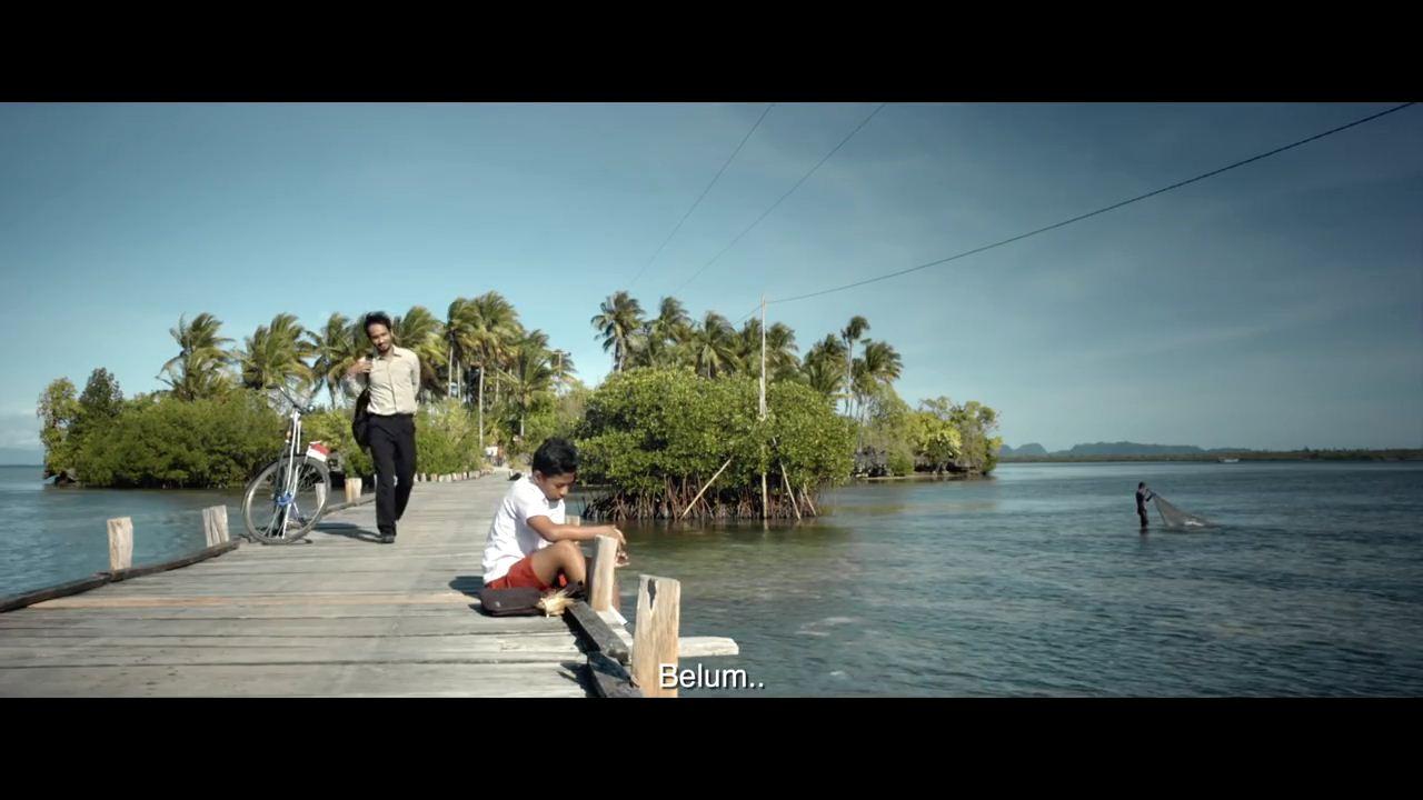 Pulau Osi dan jembatan penghubung (Youtube.com)