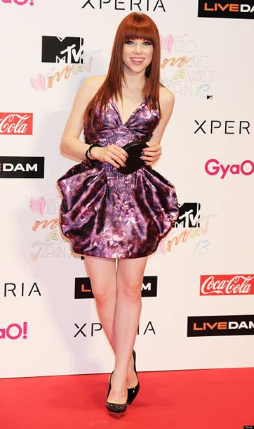 Carley Ray Jepsen kenakan busana milik Didit di MTV Awards Jepang (http://us.images.detik.com/)