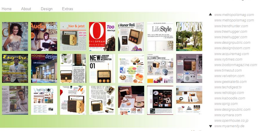 Magno di berbagai majalah dunia (magno-design.com)