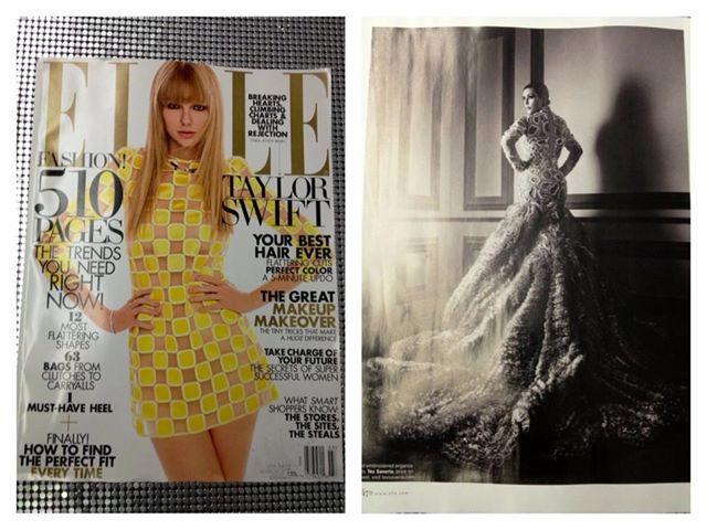 Busana Tex Sverio yang tampil dalam majalah Elle dan dikenakan Kim kadarshian (http://eviannisa.blogspot.co.id/)