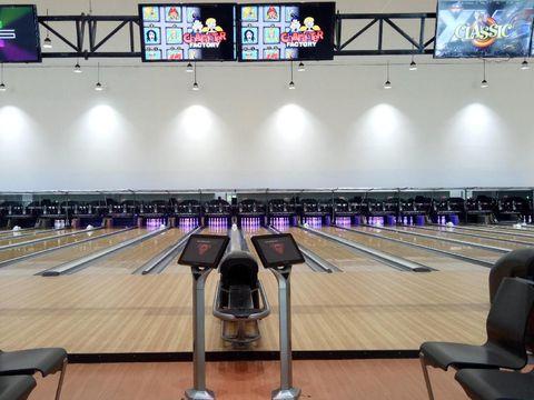 Jakabaring Bowling Arena/Raja Adil Siregar/detikSport
