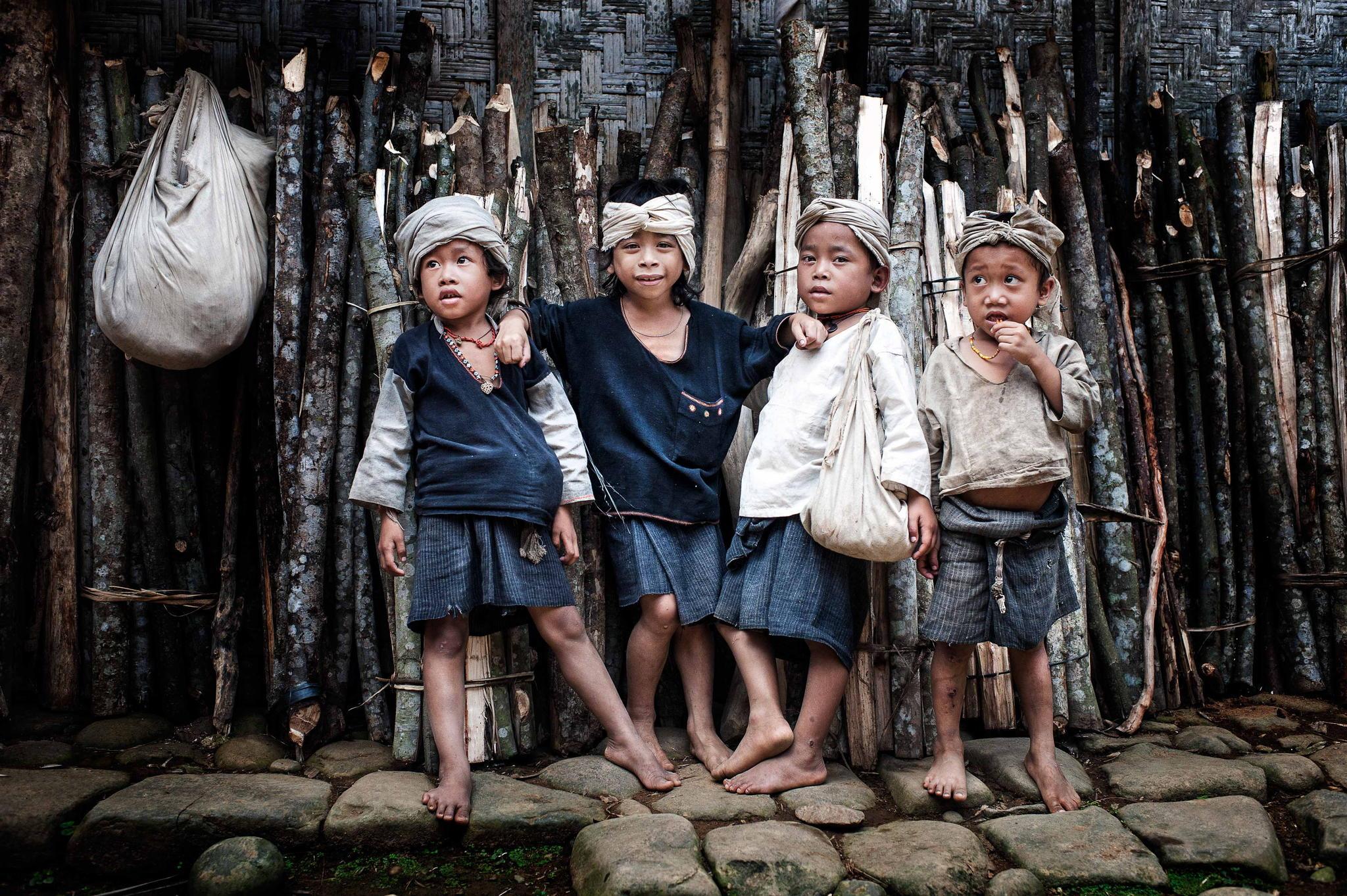 Anak-anak Suku Baduy luar dan dalam | Sumber: banten.travel