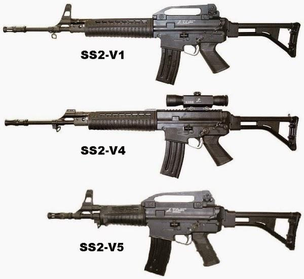 Beberapa senjata buatan Pindad | informasi-apaaja.blogspot.com