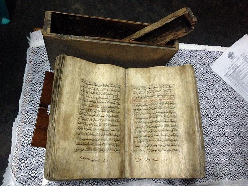 Al-Quran Tertua di Asia Tenggara via Akhyari Hananto