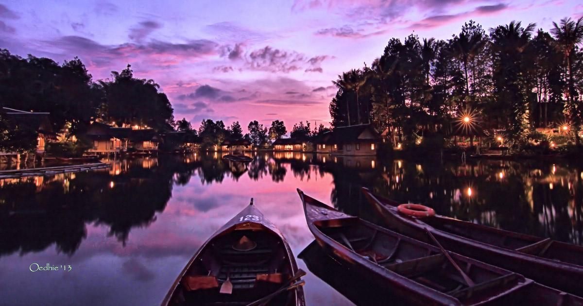 Sunrise di Kampung Sampireun, Garut (Oedhie 21)