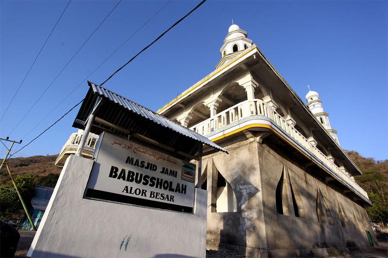 Masjid tertua di Alor via Rengge Detiktravel