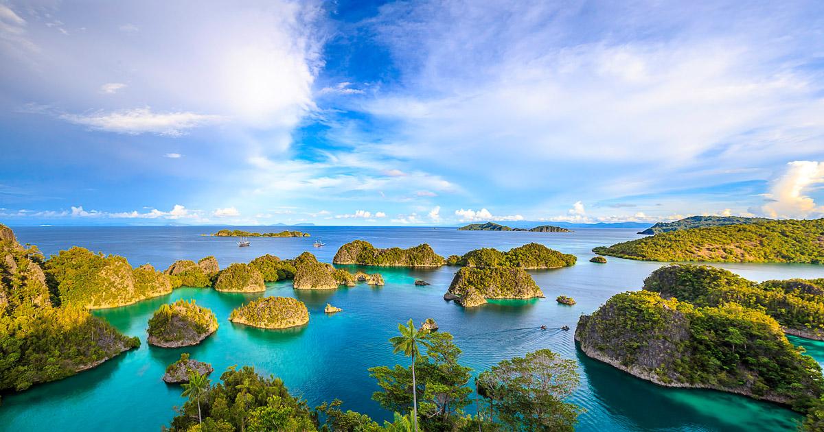 "Pulau Piaynemo ""Penemu"" Raja Ampat (Michael Rubenstein)"