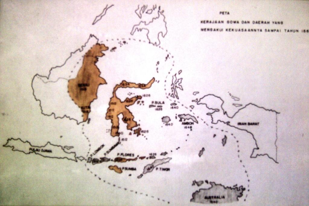Wilayah Kerajaan Gowa (via adilkurnia.wordpress.com)