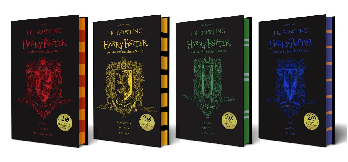Sampul buku Harry Potter untuk edisi spesial ulang tahun ke 20