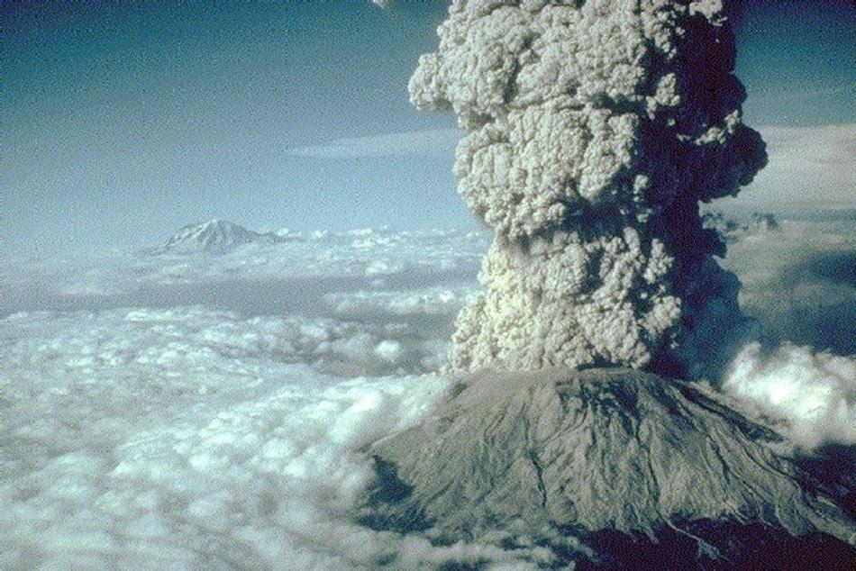 (Ilustrasi) Erupsi Gunung St Helens (Reuters)