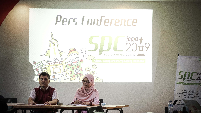 Pres Conference Sociopreneur Camp 2019