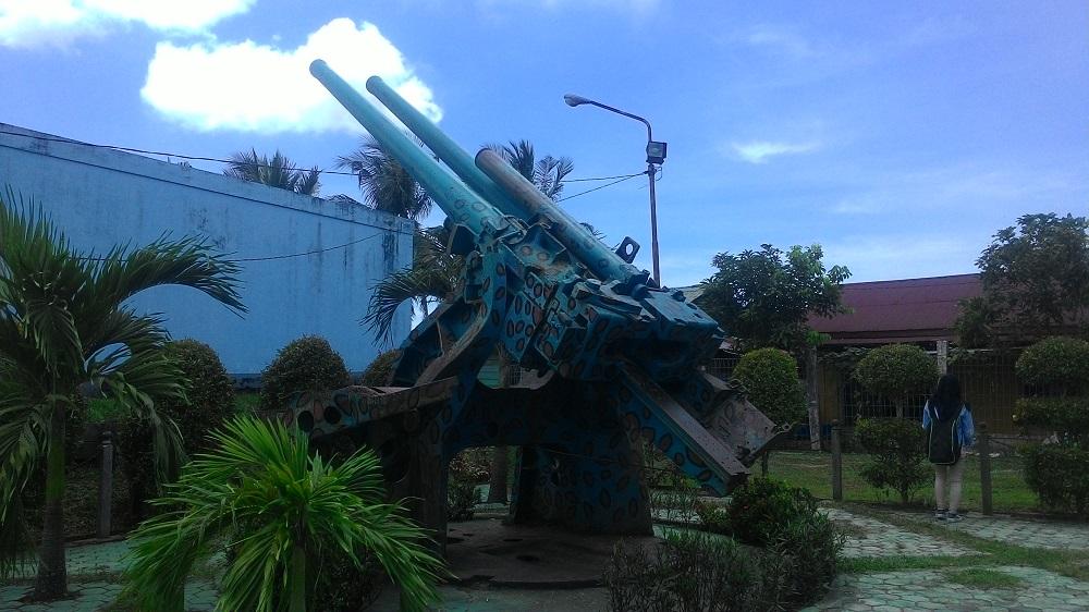 Meriam Jepang yang pertama