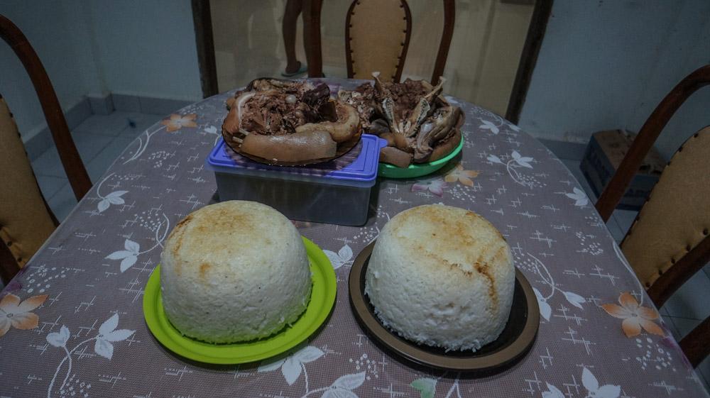 Ini Nasi Nifolegu, Bukan Kue Bolu! © Fitria Dwi S