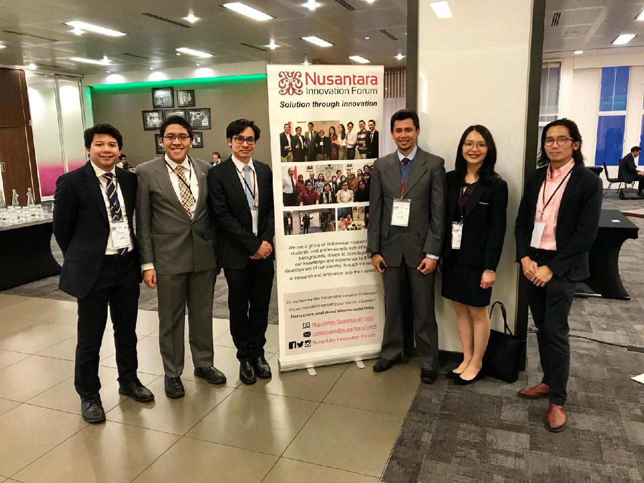 Perwakilan NIF pada agenda Indonesia Infrastructure Investment Forum (IIIF) yang digelar oleh BKPM London. Dalam agenda ini, NIF diundang untuk membuka booth serta membantu mendampingi beberapa pembicara.