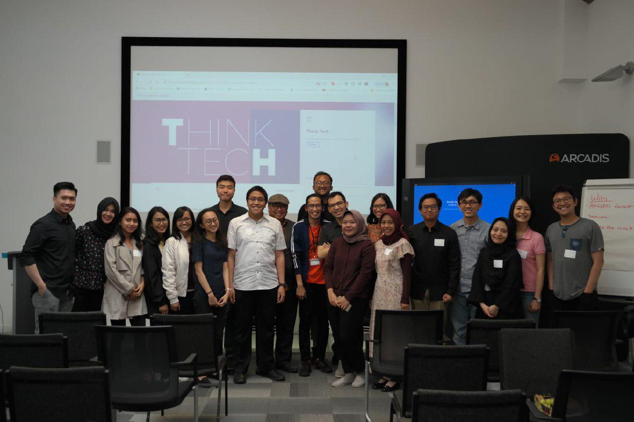 NIF ThinkTech perdana yang diadakan di London-King's Cross pada 7 Juli 2019