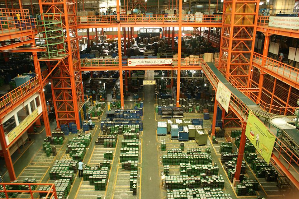 Pabrik Sakura Filter | Sumber: motorexpertz.com