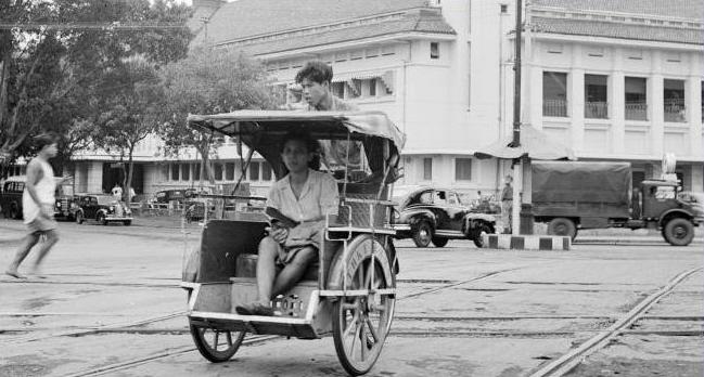 Becak jaman dulu di Indonesia | Sumber: sayoudancity.blogspot.co.id