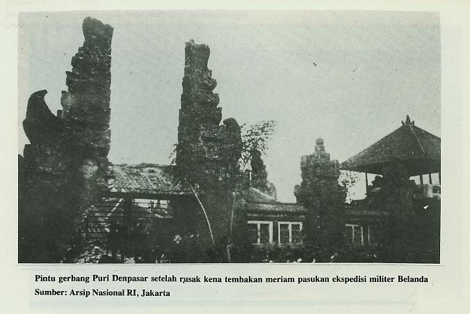 Puri Denpasar, yang pernah diserang oleh Belanda | Sumber: puriagungdenpasar.com