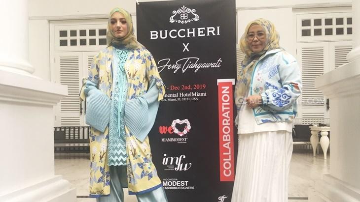 Berkolaborasi dengan Buccheri, Desainer Jeny Tjahyawati akan tampilkan karya terbaik di Miami Modest Fashion Week. Foto: Mp/Raden Yusuf Nayamenggala