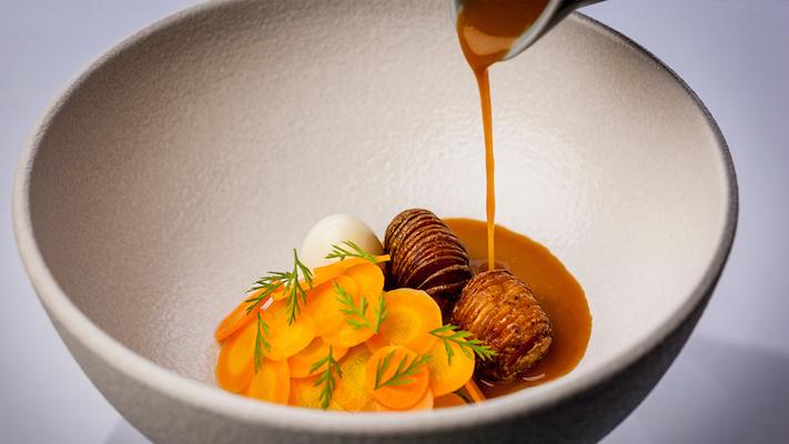 Salah satu menu di Locavore, Bali. Foto: Locavore.co.id