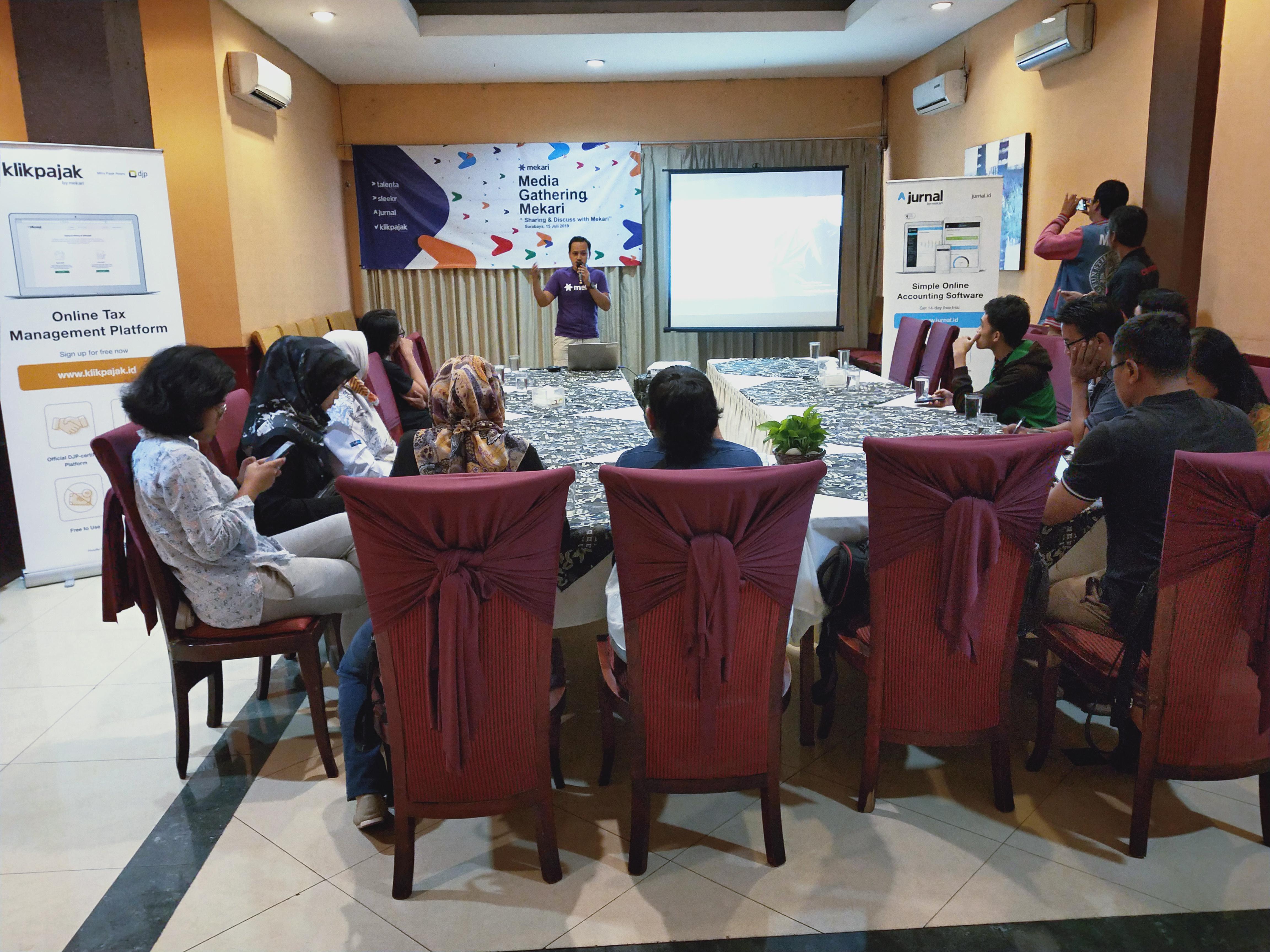 Peluncuran Mekari di Surabaya. Foto: istimewa