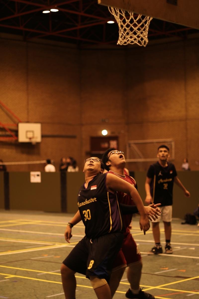 Pertandingan Basket di Nusantara Cup. sumber: Deva Hadi - PPI Newcastle